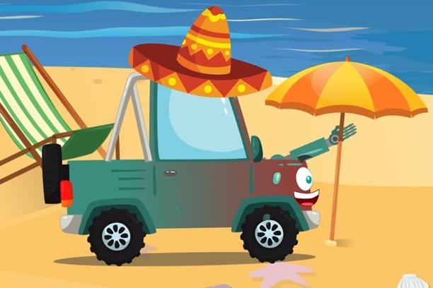 Bajki auta – Pan Samochodzik #4 wizyta u złośliwego mechanika