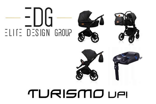 Wózek dziecięcy TURISMO Up! nowy wymiar wózka dziecięcego