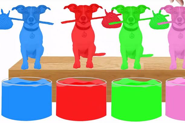 Wszystkie kolory po angielsku nauka dla dzieci